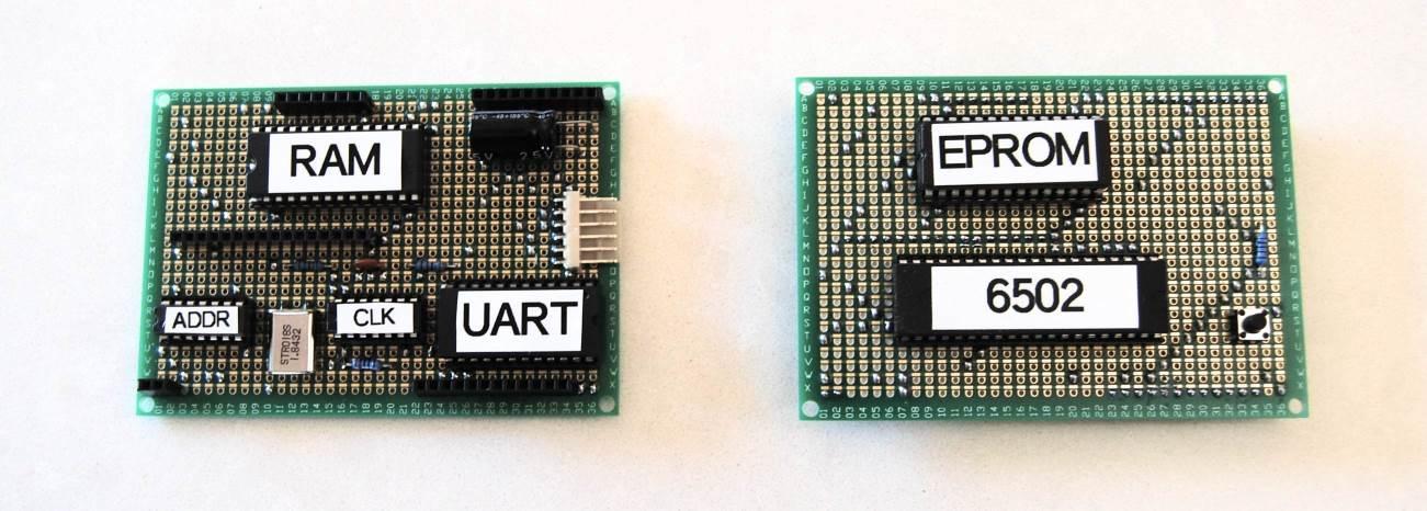 Retro 6502 Computer on Perf+ Protoboard
